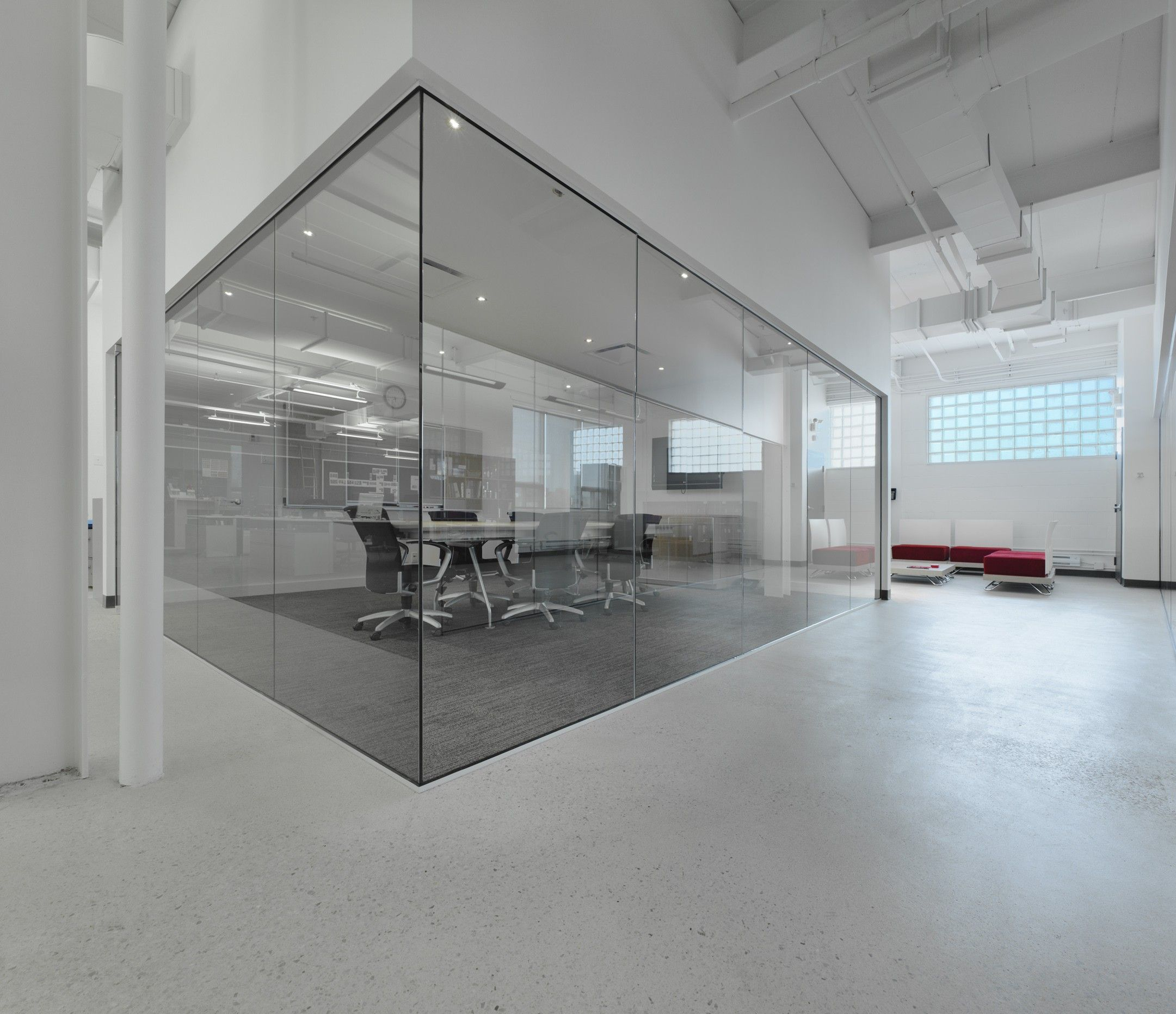 Office Concrete Floor