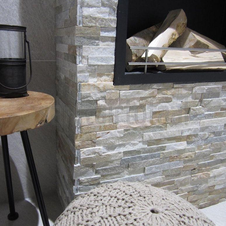 Natuursteen, steenstrips, tegelstroken, woonkamer trends, ideeen ...