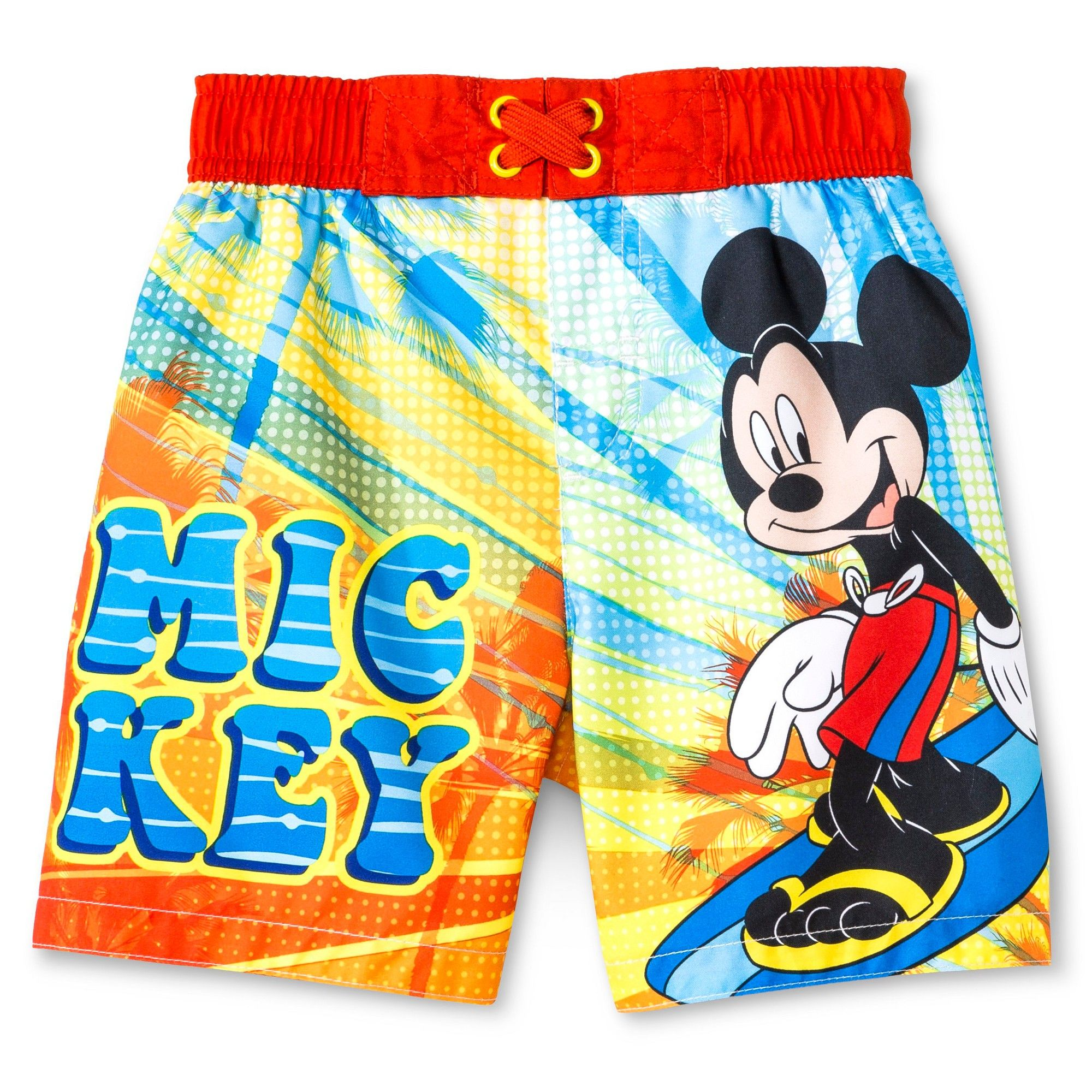 6e85903977 Disney Mickey Mouse Toddler Boys' Swim Trunk - Red 4T | Products ...