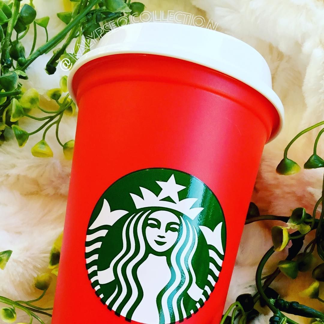 Starbucks Holiday Reusable Red Cup 2018! Find it in our