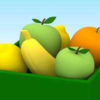 O jogo de fruta