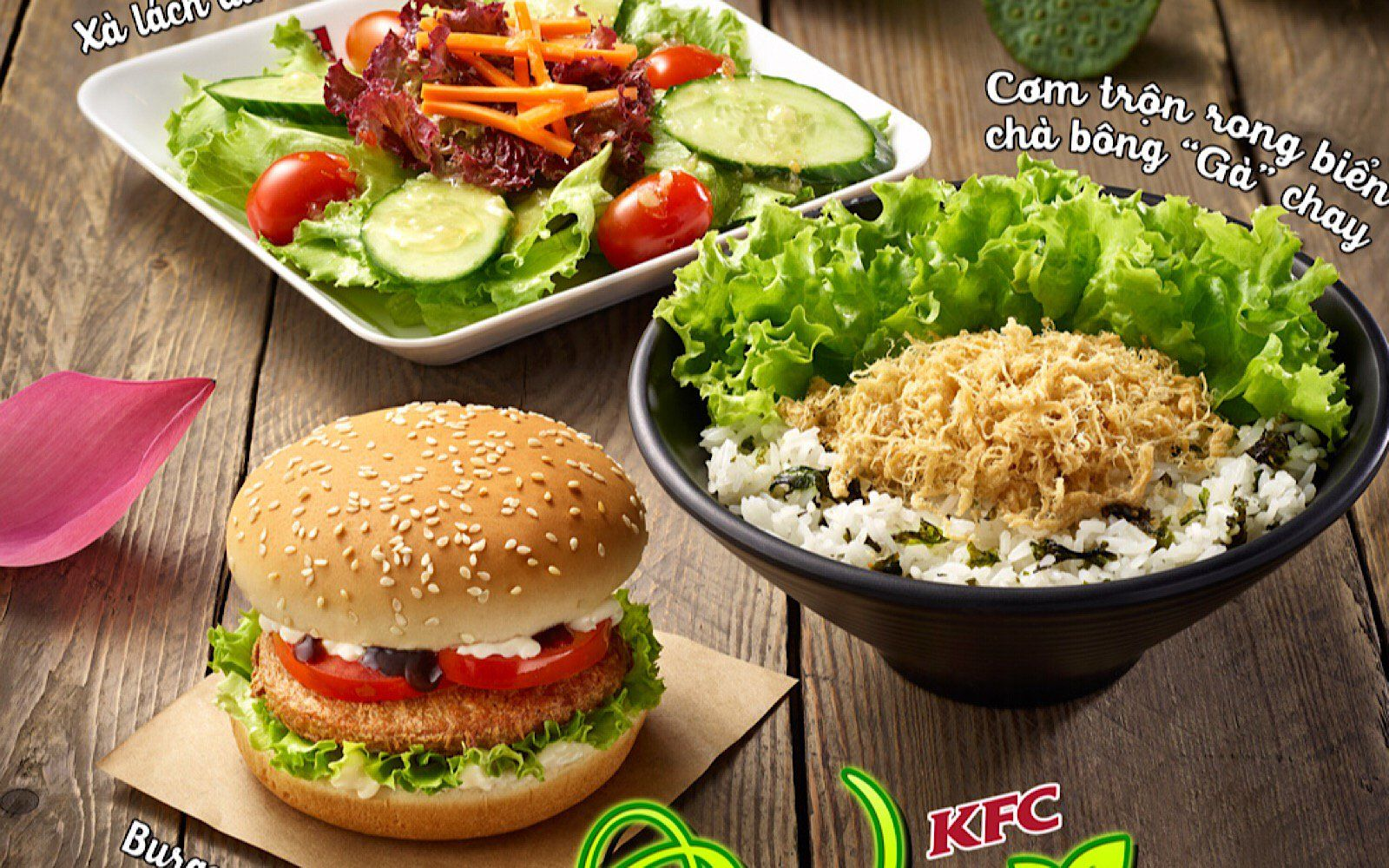 Vegan Menu Arrives At Kfc Vietnam Vegan Menu Vegan Cooking Restaurant Recipes Famous