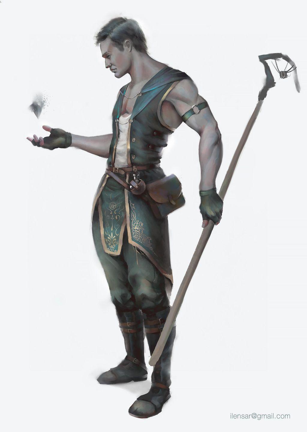 Noob Mage By Joshcorpuz85 Female Druid Witch Sorceress: Newbie Sorcerer By Lensar