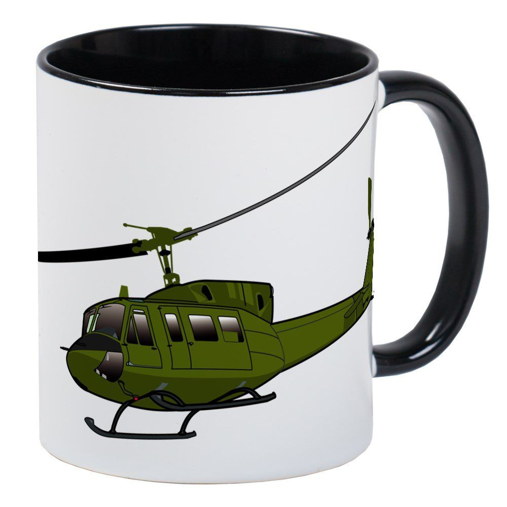 2815e624 CafePress Huey Helicopter UH1 Color Mug Unique Coffee Mug Coffee Cup >>>  Find out more by checking out the picture web link. (This is an affiliate  link).