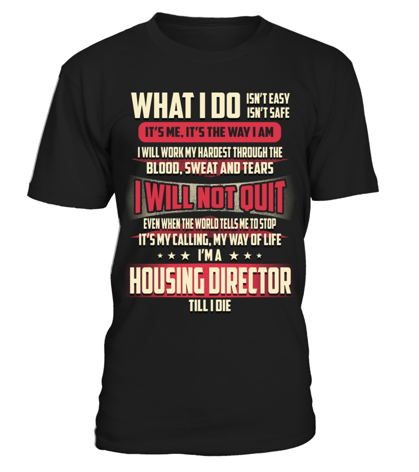 Housing Director - What I Do