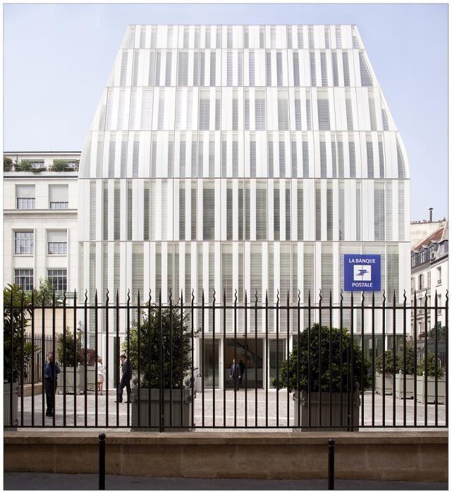 Façade la banque postale en vrac Pinterest - calcul surface facade maison
