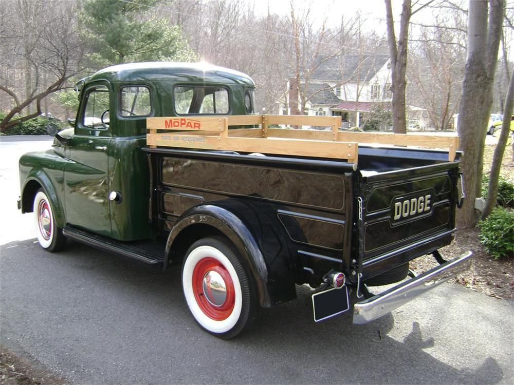 A 1950 Dodge B 2 Pickup With The The Pilot House Cab Description From Barrett Jackson Com I Searched For This On Bing Co Chevy Trucks Trucks Old Dodge Trucks