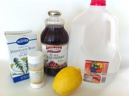 Jillian Michael's natural diuretic drink - helps bloating
