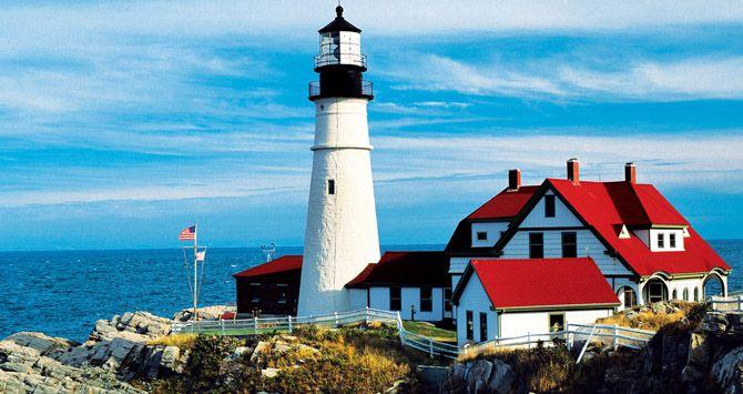 Bar Harbor Maine Usa Usa Road Trip Ideas Pinterest