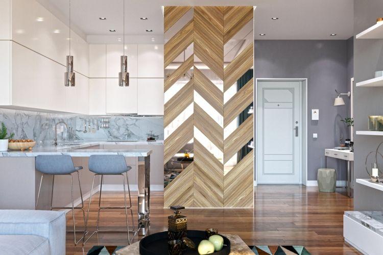 Idee di design per divisori per ambienti u design di camere