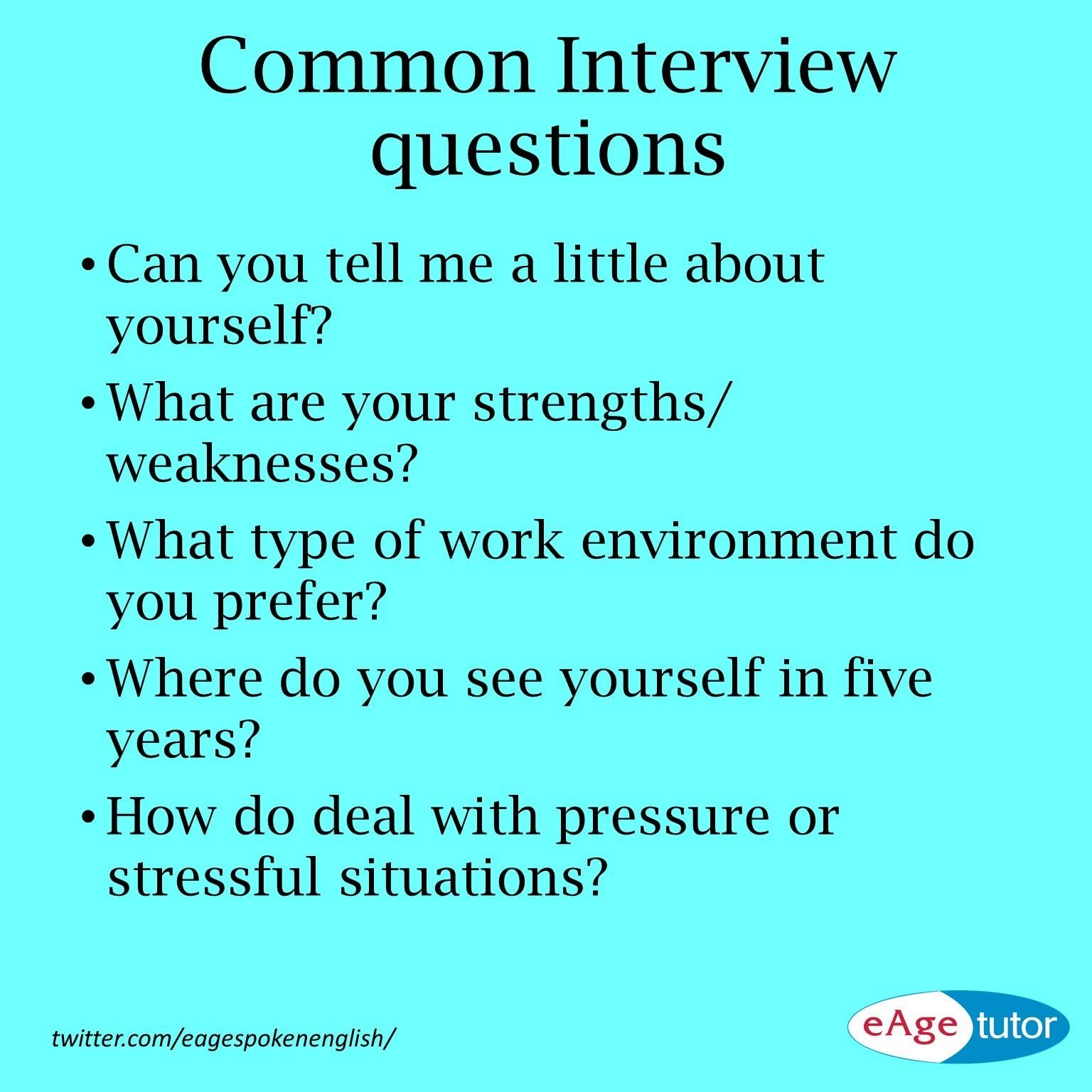 Common Interview Questions Bank Teller Teacher