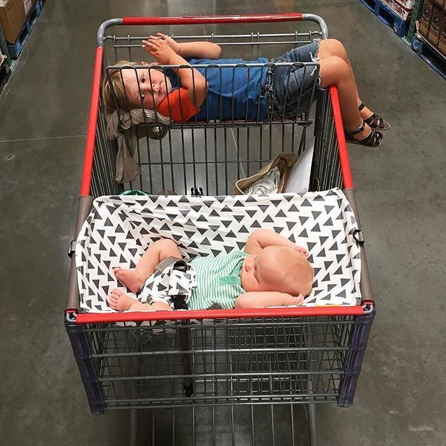 Costco With The Kiddos Tinyhomedream We Spent Over And Hour Wandering Around Costco In An Effort To Avoid The Heat Thanks Baby Shop Baby Makes Cute Babies