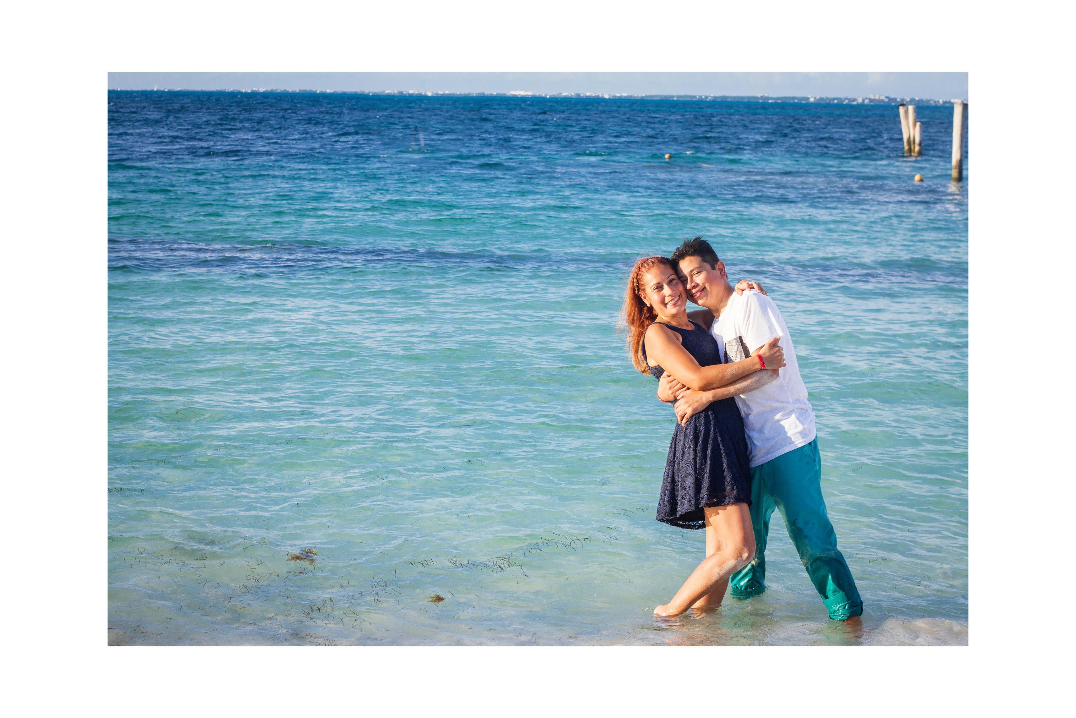 Sesiones de Aniversario. Cancún. Riviera Maya.