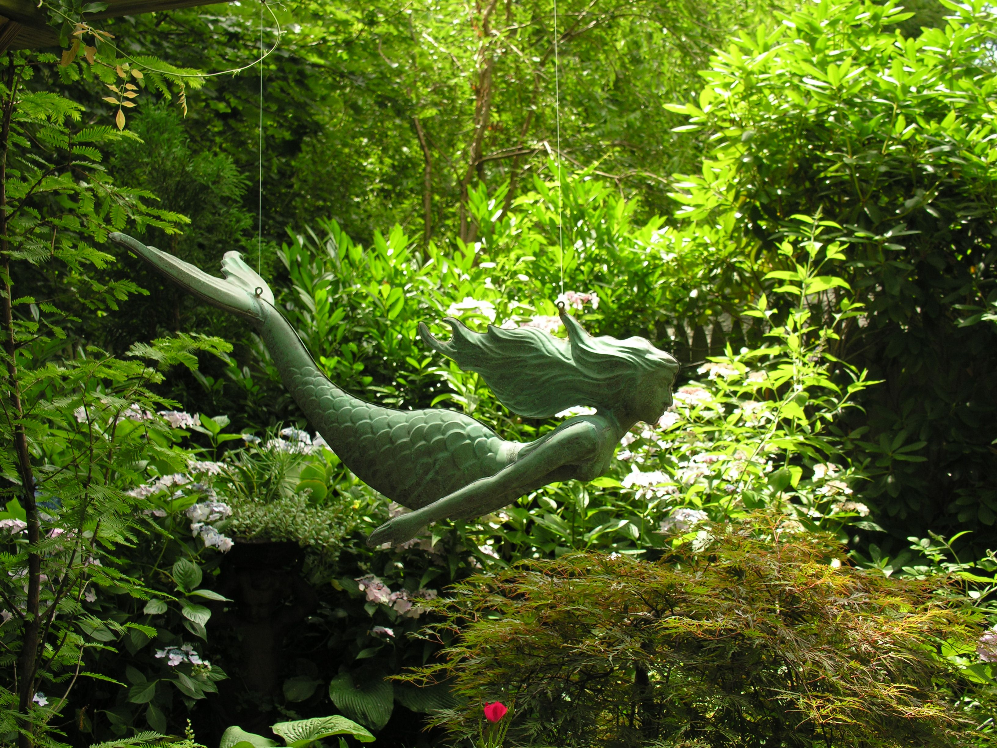 The Secret Gardens of Newport Garden whimsy, Garden