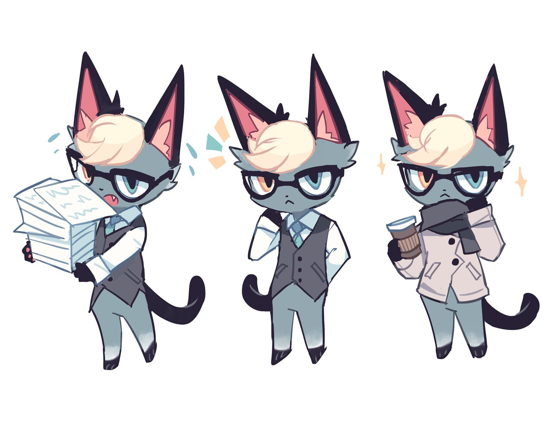 16+ Animal crossing new horizons cat villagers ideas in 2021