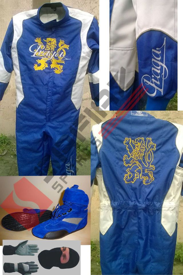 PRAGA Go Kart Race Suit CIK FIA Level 2 Approved Shoes with