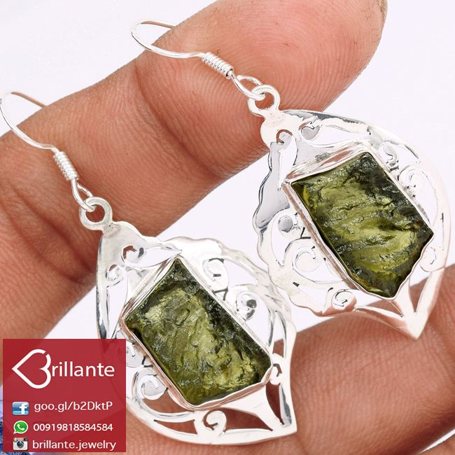 #Chunky #Wholesale 925 #Sterling #Silver #Handmaded #Czech #Moldavite #Gemstone #Earring for #Woman We deals in all types of #jewelry like #Children's Jewelry #Engagement & #Wedding#Ethnic, Regional & Tribal,#Fashion Jewelry#Fine Jewelry#Handcrafted #Artisan Jewelry #Jewelry Design & Repair #Men's Jewelry #Vintage & #Antique Jewelry #Wholesale Lots so please ask us if you have any enquiry
