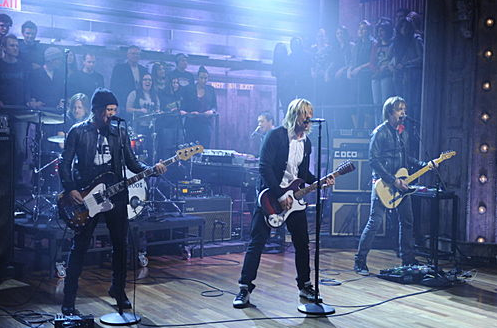 Switchfoot on Late Night