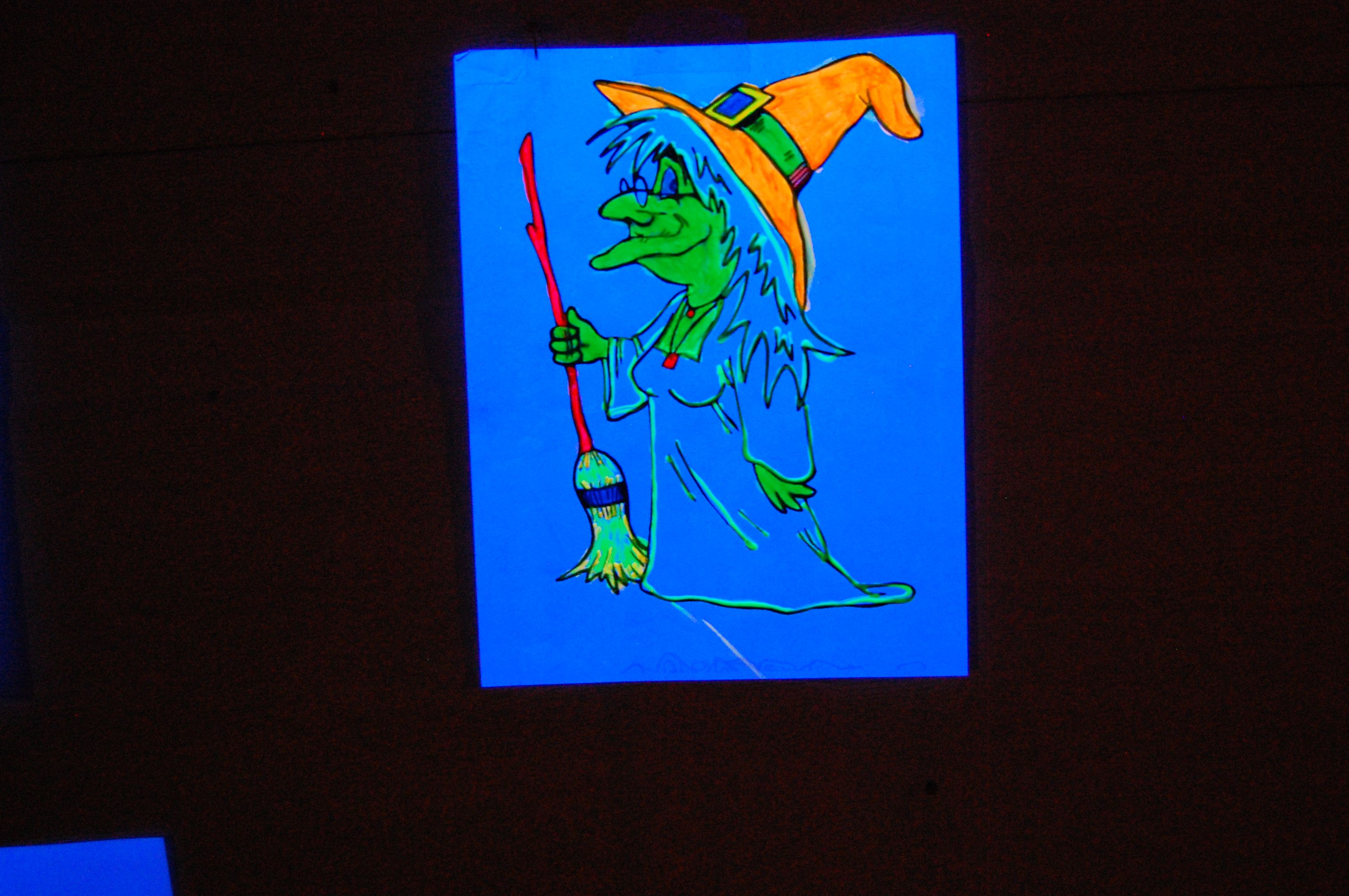 Pin By Myron Mesecke On My Halloween Blacklight Coloring