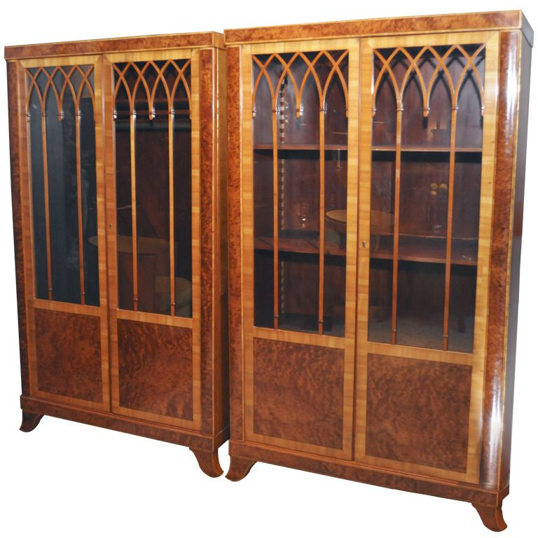 Neo-Gothic Armoires and Display Cabinets - Neo-Gothic Armoires And Display Cabinets Cabinet Makers