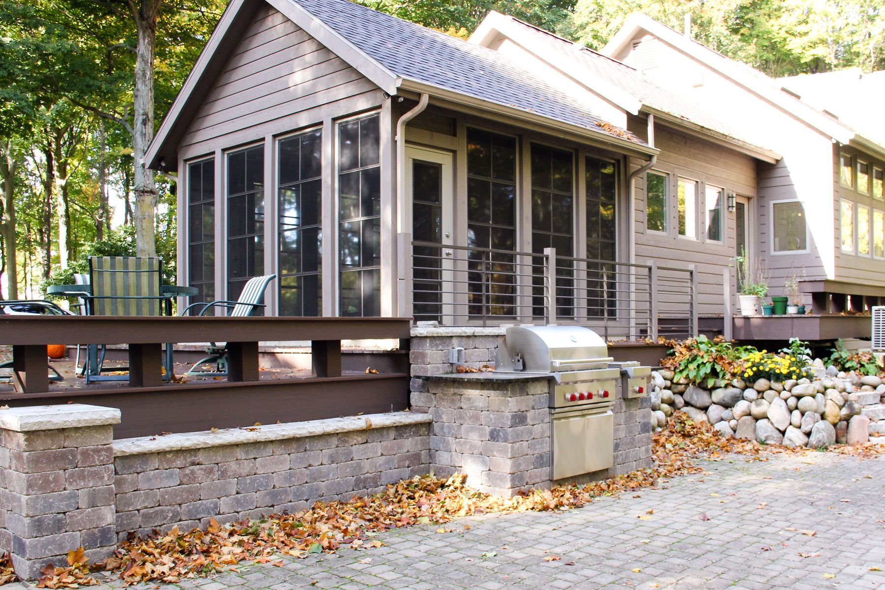 Bon Brand New Porch, Enclosure By Raber Patio, Iron Railing By