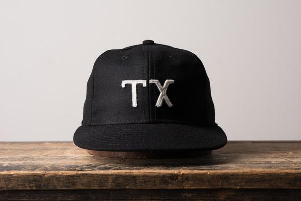 Ebbets Field TX Texas Hat Ball Cap Made in America Manready Mercantile 13468c0afa85