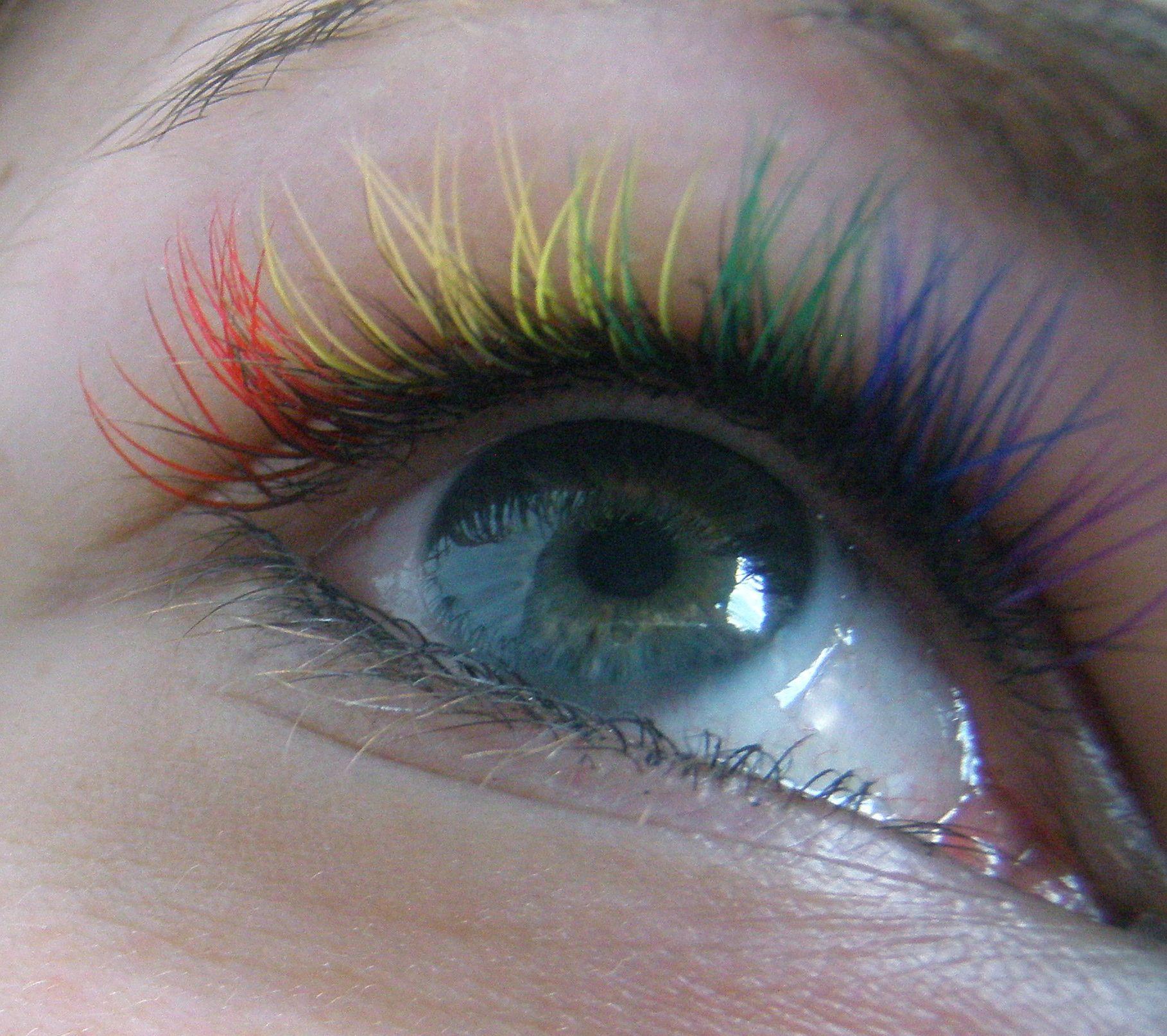 5cd794151a7 Winks Studio rainbow lash extensions. Red Bank, NJ | Amazing ...