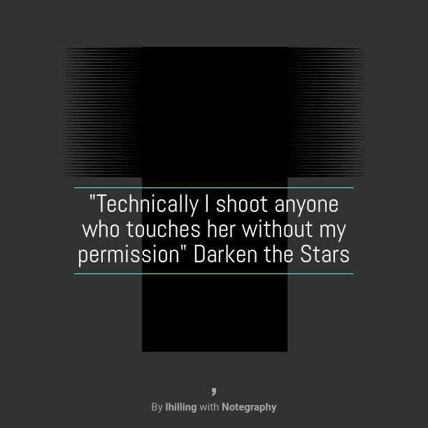 #Kyon #Kricket Kyon Ensin & Kricket Hollowell Darken the Stars