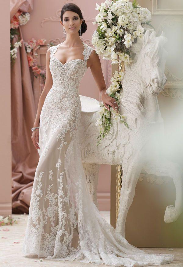 vestidos para novias románticas. seguramente que ya está cerca el