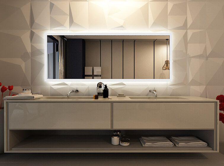 Pin Von Melanie Szolnoki Auf Badezimmer Ideen Badspiegel