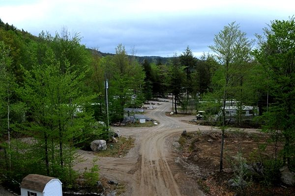 The Bluffs Rv Resort In Freedom New Hampshire This Campground Was Designed Developed Especially For Active Adults Age 50 P Rv Parks Camping Places Scenic