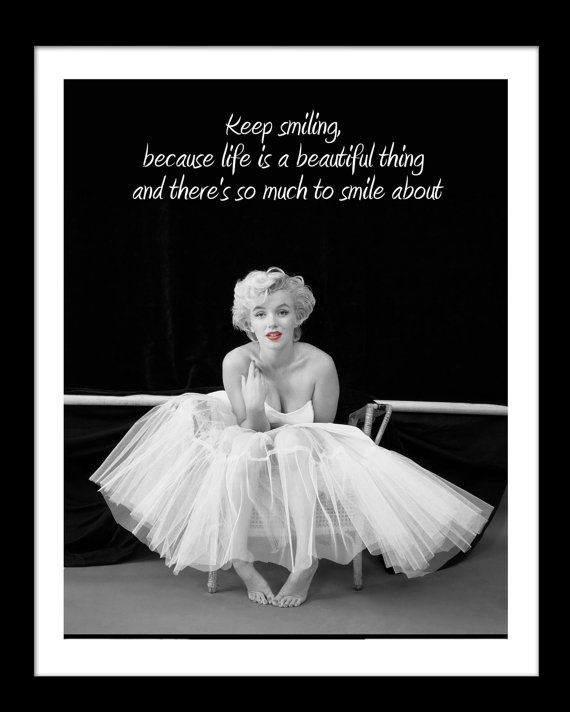 Marilyn Monroe Posters With Quotes | www.pixshark.com ...