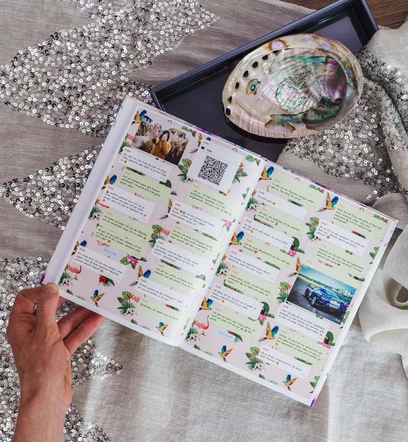 Whatsapp Chat Drucken Als Buch Oder Pdf Mit Zapptales Mobile Photo Album Diy Cute Valentines Day Gifts Girlfriend Gifts