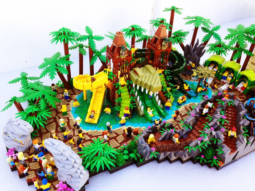 LEGO Legends of Chima Water Park Croc Swamp by LEGOLAND Master ...
