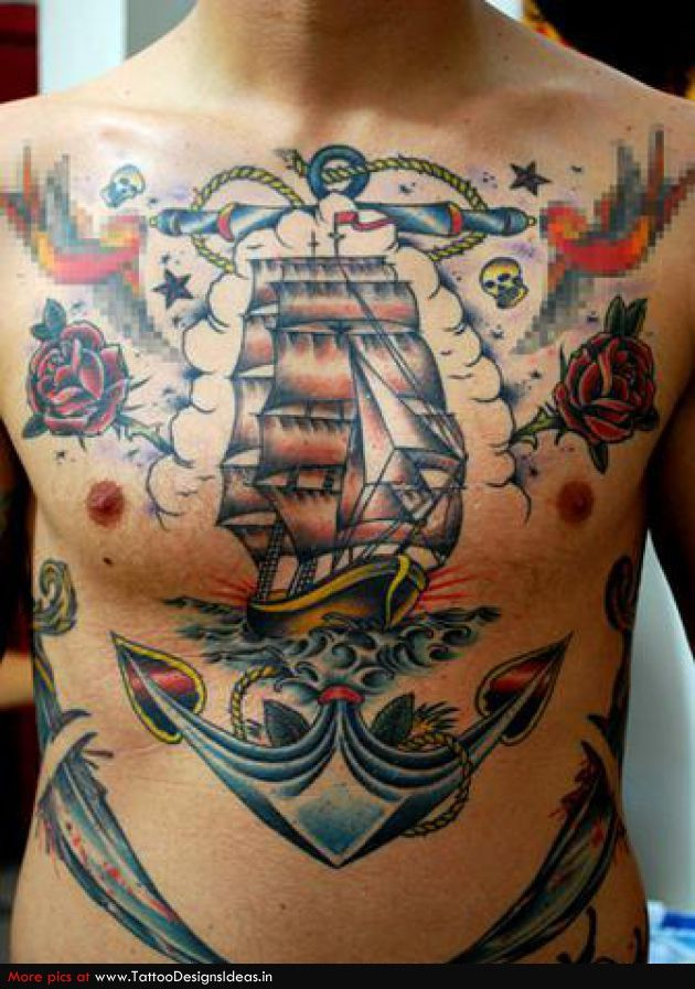 Pin By Jim Bennett On Tattoo Ship Tattoo Pirate Ship Tattoos Tattoos For Guys