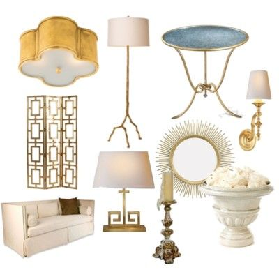 Ivory and Gold...So Luxe