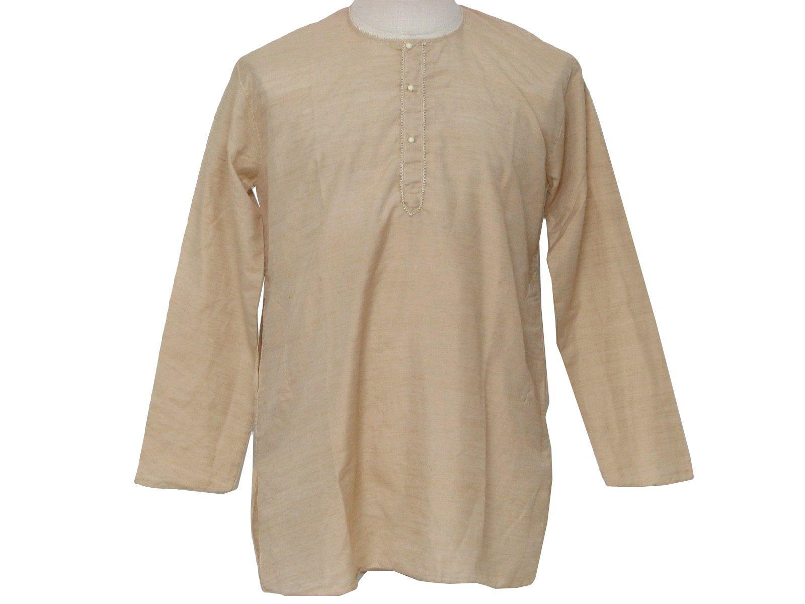 1970 U0026 39 S Mens Hippie Shirt