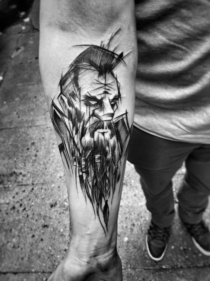 Inez janiak sketch tattoos sketch tattoo design tattoo