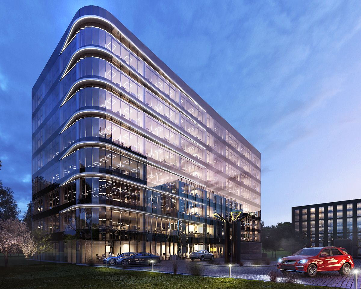 Office building G - B4B, Cracow on Behance