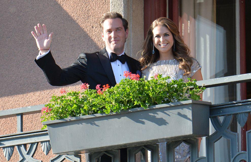 Princess Madeleine and Chris O'Neill's royal wedding: best moments