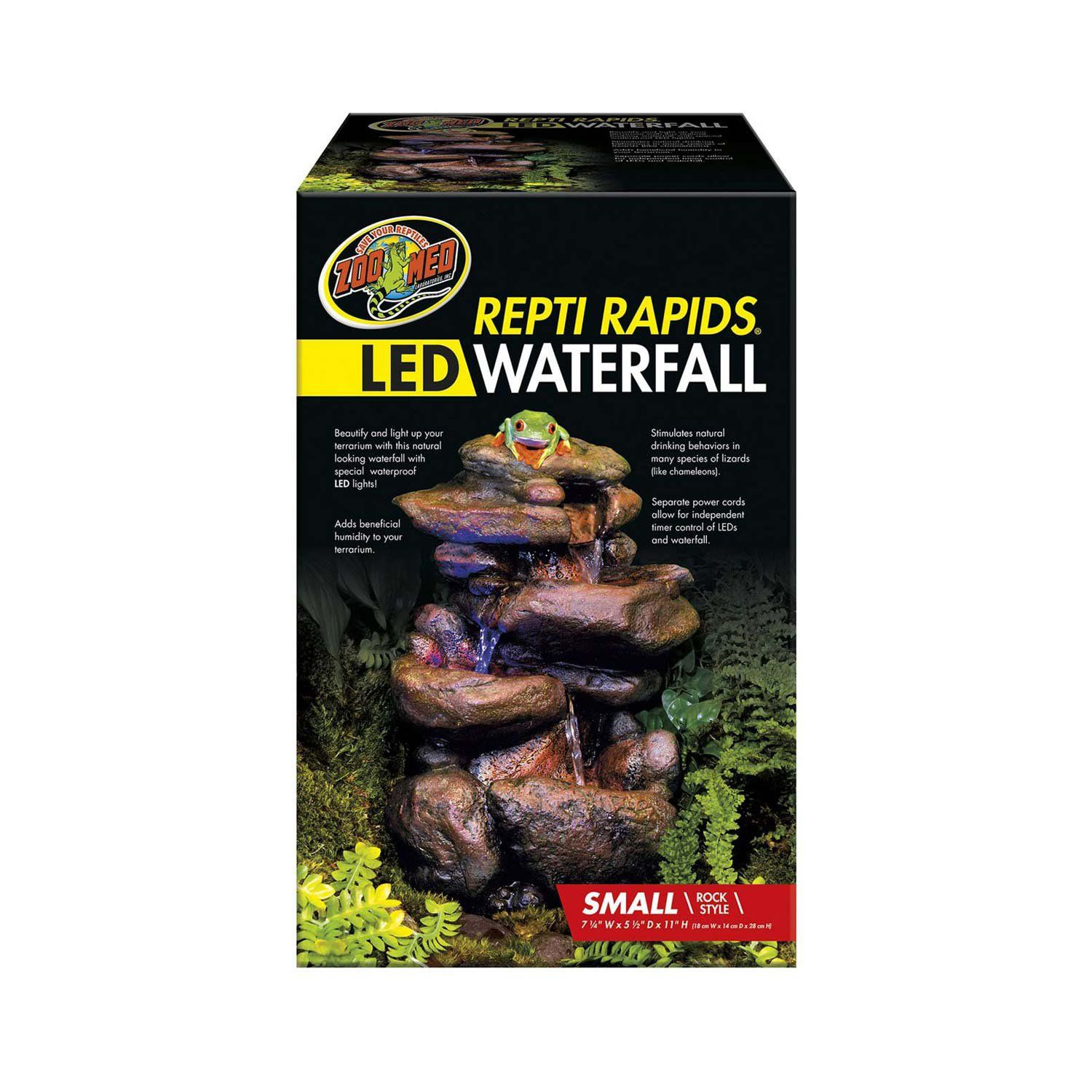 Zoo Med Repti Rapids Led Waterfall Small Products