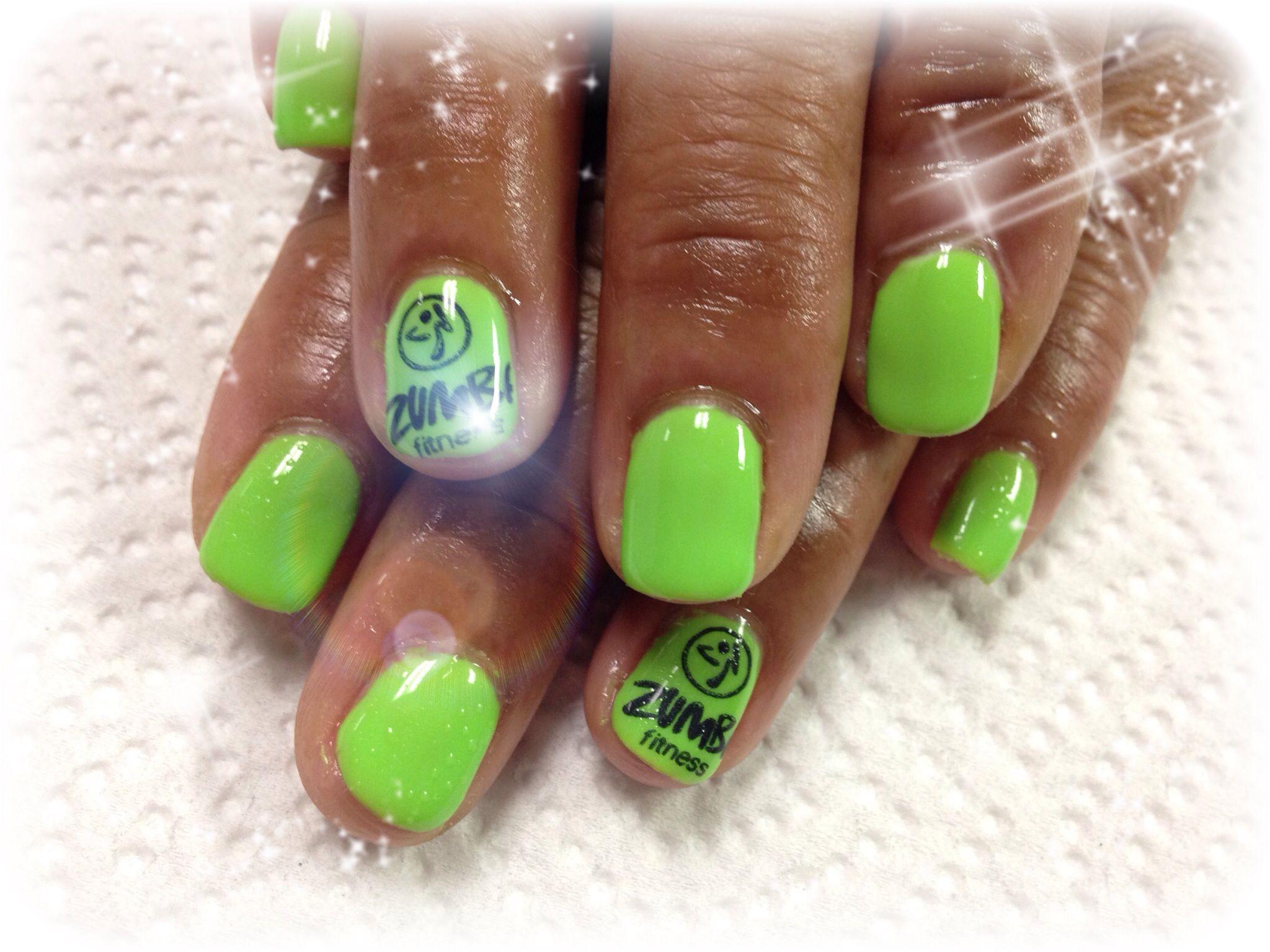 Zumba nails | Nails <3 | Pinterest