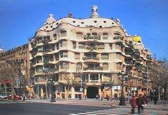 gaudi church barcelona spain | Placa del les Olles, Born