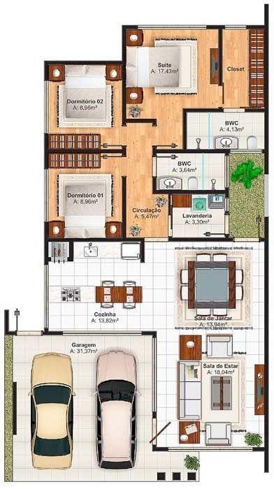 147 Modern House Plan Designs Free Download Https Www Futuristarchitecture Com 4516 Modern House Plans Html Arsitektur Rumah Denah Rumah Rumah Minimalis Modern house plan and design