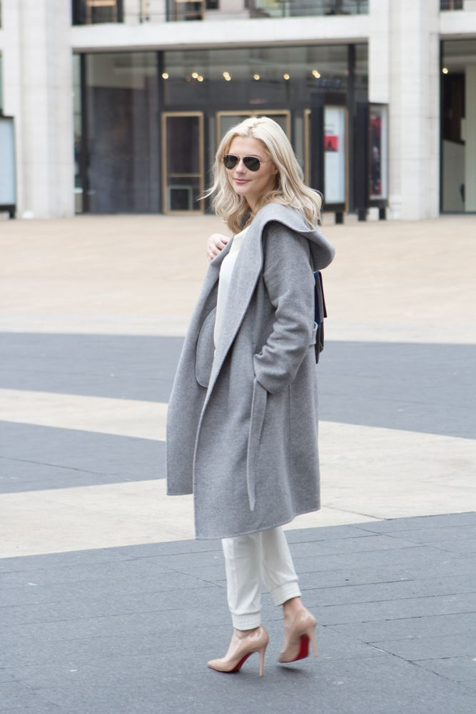 relaxed fashion week look
