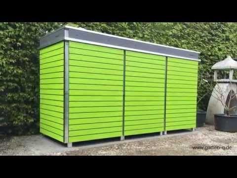 Mülltonnenbox selber bauen, das macht Spaß und spart Geld
