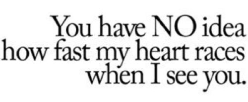 i want to say this to someone one day