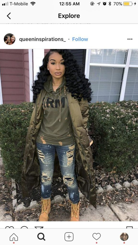 Aaleeyah Petty Pretty Girl Swag TShirt Lovely 1 Denim Jeans UGG Boots Urban Stre #uggbootsoutfitblackgirl
