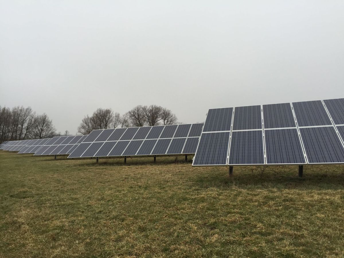 Growing Power Spafford S Fesko Farm Offsets Energy Consumption With Solar Panel Array Solar Panels Solar Growing Power