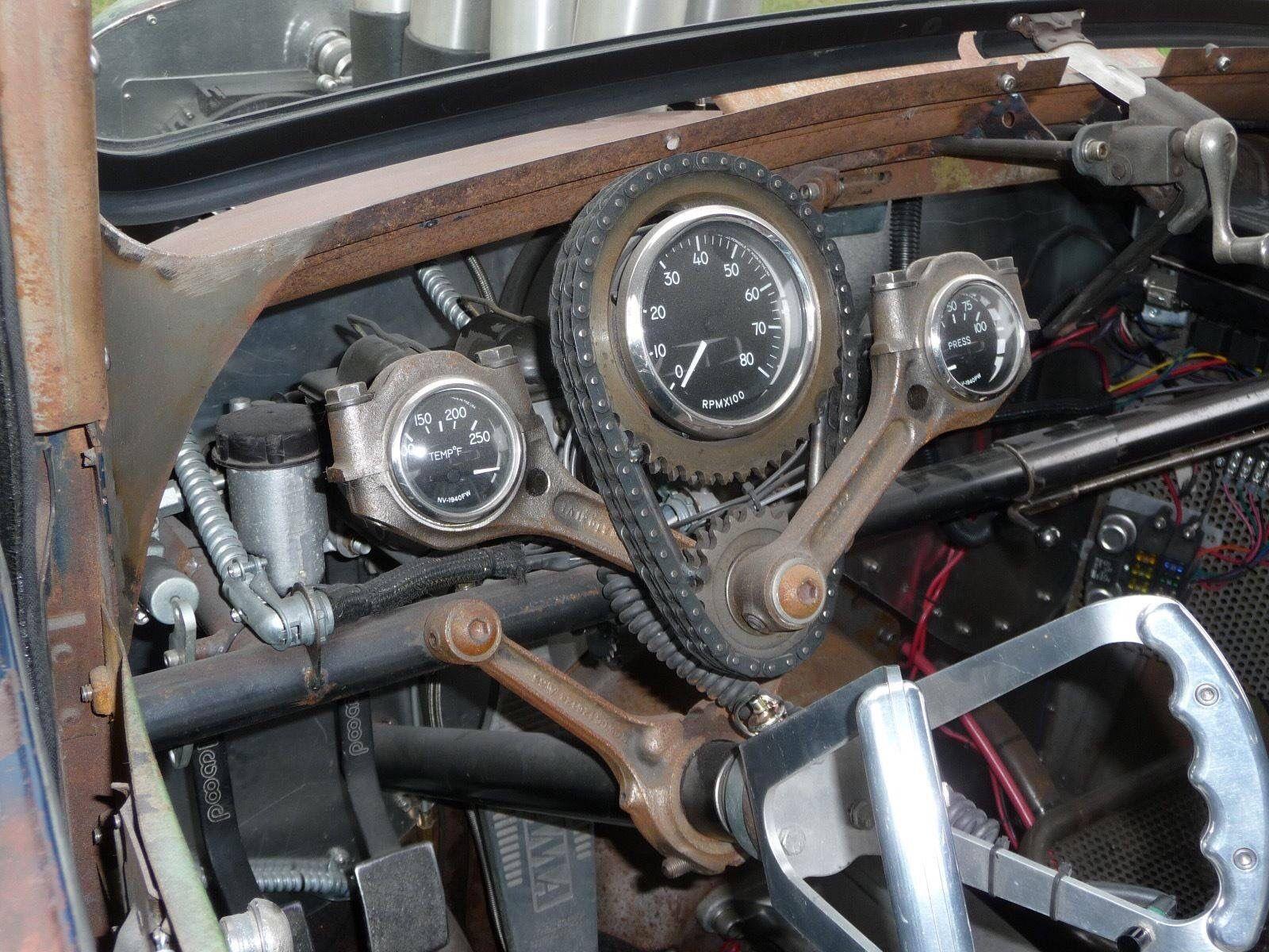 Rat Rod Steering column | Hot rods | Rat rod cars, Rats, Trucks